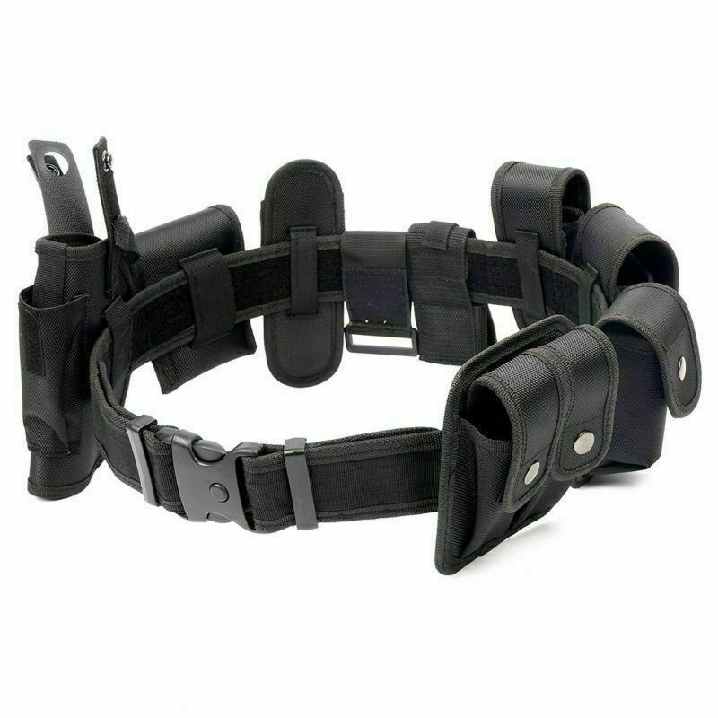 BLK Law enforcement modular equipment system security military tactical belt