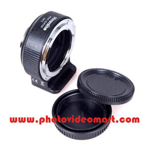 Latest Ver.06 Commlite CM-ENF-E1 PRO AF Adapter For Nikon F Lens