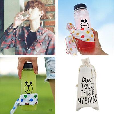 KPOP EXO Water Cup ChanYeol Bottle Sehun New My Neighbor's Name Is Next Door