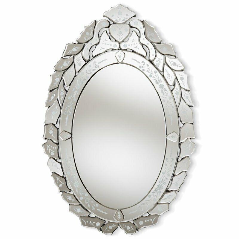 Baxton Studio Livia Venetian Style Decorative Wall Mirror