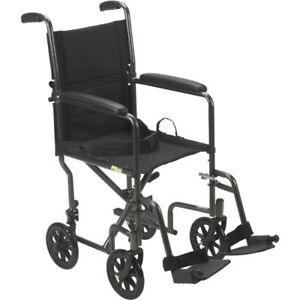 """NEW&USED Transport WheelChair or Portable Wheel Chair- 17 or 19"""""""