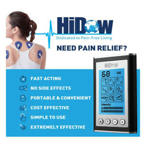 HiDow TENS Machine - EMS Unit - Pulse Therapy Massager