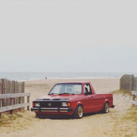 1981 Volkswagen Rabbit pick up 2.0 , mk1 !