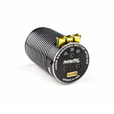 HobbyStar 4268 Brushless, Sensored Motor, 2150KV, 1/8 RC Buggy 4-Pole RC8 8ight