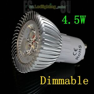 UK STOCK 4 6 8W LED Spot Light SMD Bulb Dimmable Lamp GU10 MR16 Day Warm White