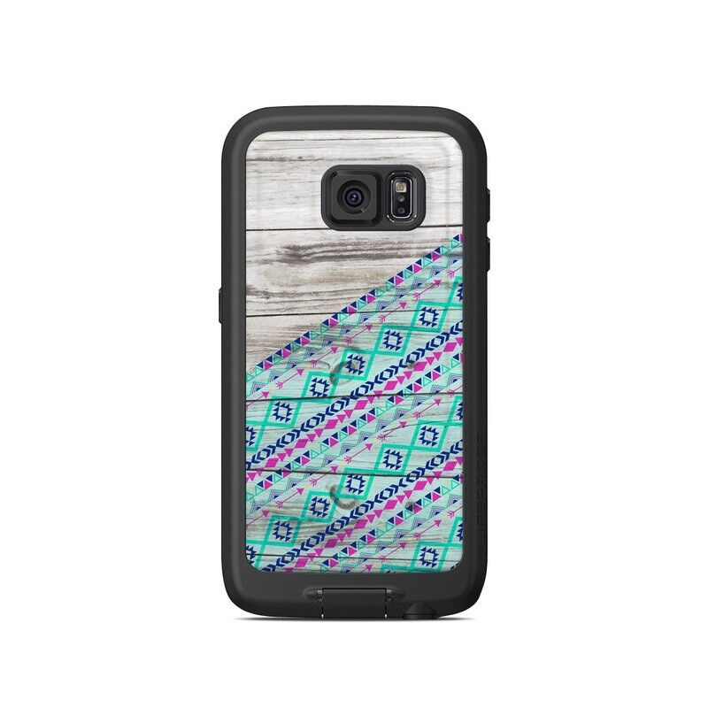 Skin for LifeProof Galaxy S6 FRE Case - Traveler - Sticker Decal