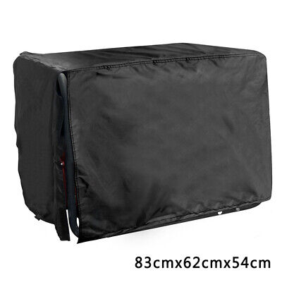 Large Portable For Generator Cover Storage Universal Black Rainproof Protector