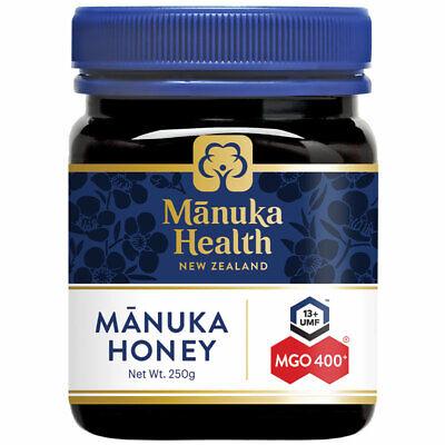 Manuka Health MGO 400+ Manuka Honey 250g (Not For Sale In WA)