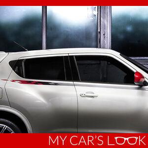 Nissan Juke - Nismo seitenstreifen aufkleber, Nimo Aufkleber grafik aufkleber