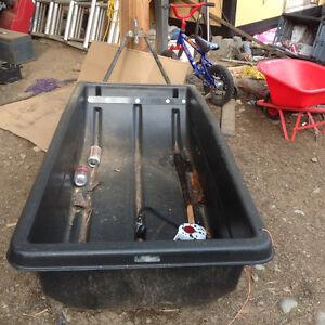 Quadrax snowmobile sled