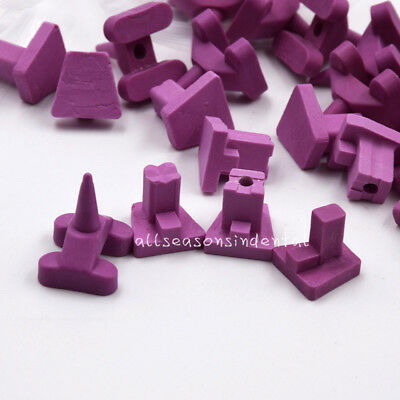 40 Pcs Dental Lab Tray Ceramic Firing Pegs Holding Furnace Porcelain Oven 4 Type