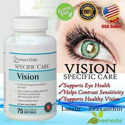 #1 Best EYE VISION Contrast Sensitivity Lutein Zeaxanthin Supplement 75