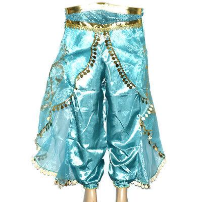 Aladdin Kostüm Prinzessin Jasmin Cosplay Outfit Mädchen Halloween Kostüm - Jasmin Kostüm Halloween