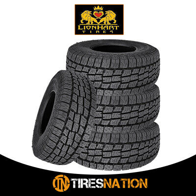 4 New Lionhart LIONCLAW ATX2 26570R15 112S All Season Performance Tires