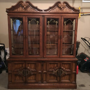 Buffet and hutch $300