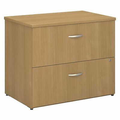 Bush Business Series C Lateral File Assembled Light Oak