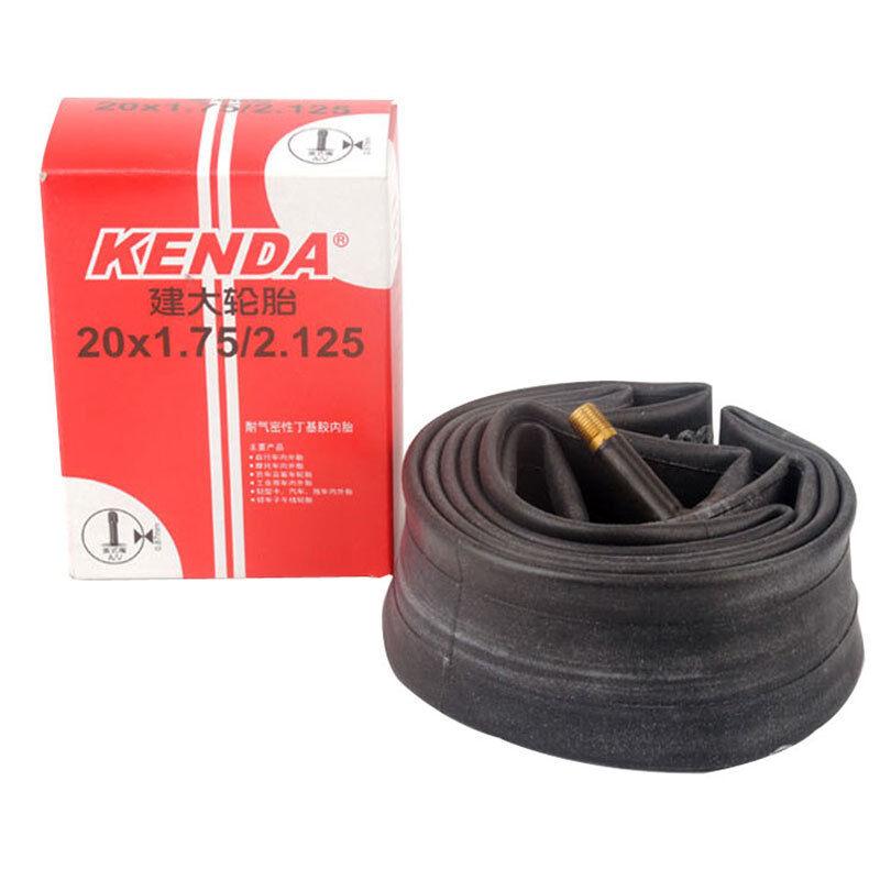 """2-Pack Kenda 20/""""x1.75 //1.95//2.125 Schrader Valve BMX Bike Tire Inner Tubes BULK"""