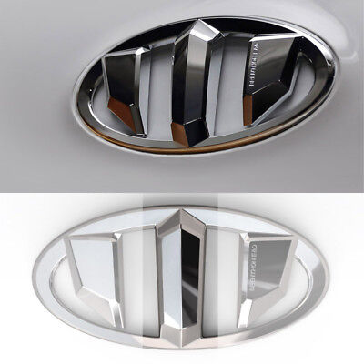 Rear Emblem Fit For HYUNDAI 2013-16 GENESIS COUPE Brenthon Front Hood Grill