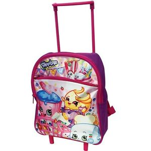 NEW: Shopkins Rolling Backpack, 12 Inch