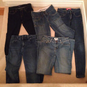 Girl's Assorted Jeans (sizes 12, 0, 00) Like New