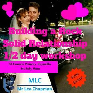 Building a Rock Solid Relationship 1/2 Day Workshop Adelaide CBD Adelaide City Preview