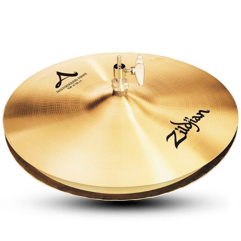 "Zildjian 14"" A Mastersound Hi-Hat Pair Traditional Finish"