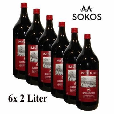 Imiglykos Weingut Sokos Rotwein 12 Liter lieblich halbsüß