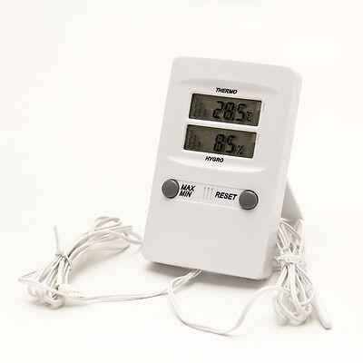 Thermo-und Hygrometer , digital , mit 2 Fühlern