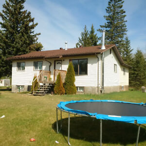 10 acres with 6 bedroom house and huge shop near Bonnyville