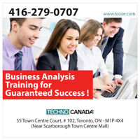 Business Analysis PLUS Course | 100% Placement Assistance