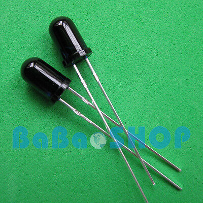 10pcs 1000pcs 5mm 940nm Ir Infrared Receiver Diode Photodiode Led Lamp