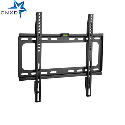 SLIM LCD LED PLASMA FLAT TV WALL MOUNT BRACKET 26 30 32 37 42 46 47 50 52 -