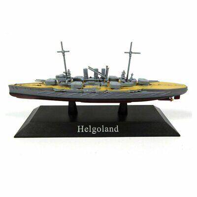Helgoland Barco de Guerra 1:1250 Acorazado Diecast Agostini *42