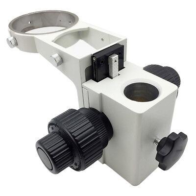 Stereo Microscope Adjustment Coaxial Coarse And Fine Focusing Arm E Head Holder