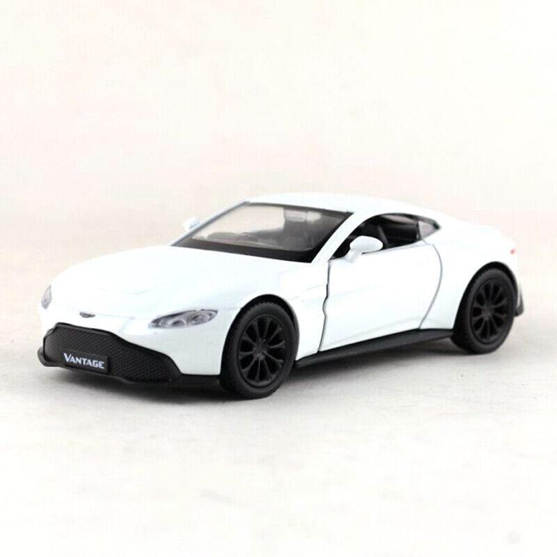 1 36 Aston Martin Vantage V8 Model Car Diecast Toy Collection Gift Kids White Ebay