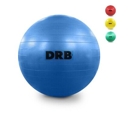 DRB Anti-Burst Balance Ball for Yoga Stability Gym Workout Training Size 75 cm