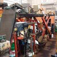 Automotive scissor lift hoist car hoist Hydra Lift 9000lbs used
