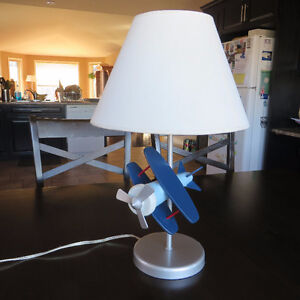 Table lamp- airplane- great for child's room