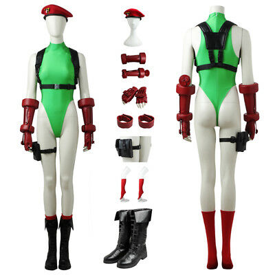 STREET FIGHTER V Cammy White Cosplay Costume Custom - Street Fighter Kostüm Cammy