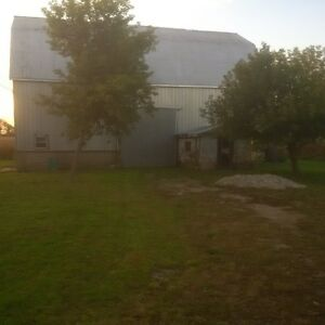 Barn available for storage