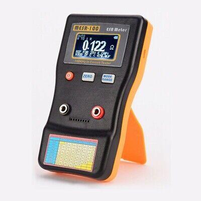 Esr Meter Tester 100khz In Circuit Tester Capacitor Resistance Tester Mesr-100