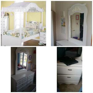 3 piece Brick's Bedroom Furniture - $350
