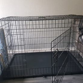 SOLD Dog Crate for Sale 122cm x 74cm x 80cm