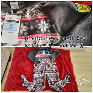 Camping onsie!!! Never worn..tags attached ..size M