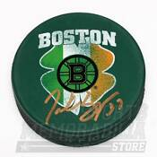 Boston Bruins Autographed Puck