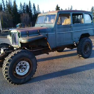 1950 Willy's Wagon Mud-Bogger