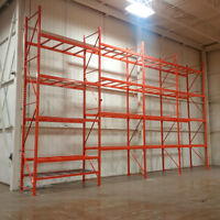 We buy used pallet racking and other warehouse equipment