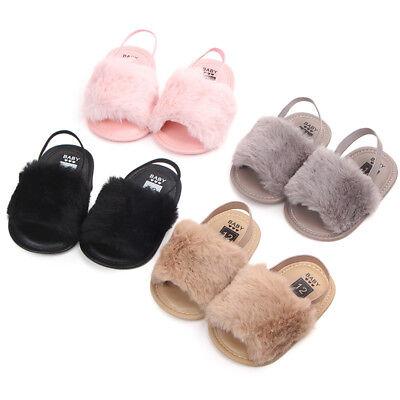 Newborn Baby Girl Soft Sole- Shoes Infant Toddler Summer Sandals