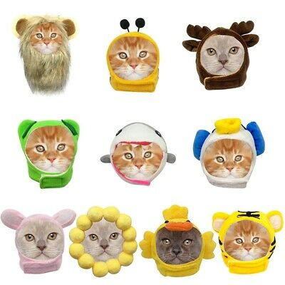 Cat Pet Dog Cute Animal Cap Hat Head Wear For Puppy Headband Fancy Costume