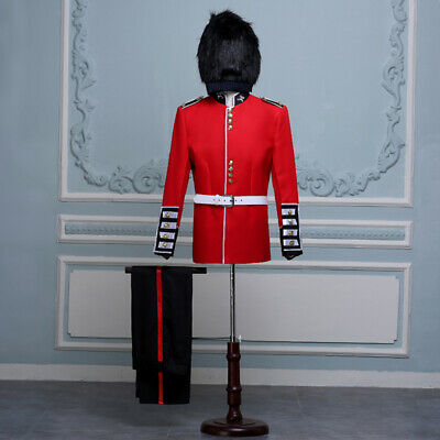 British Uniform Royal Guard Soldier Costume Mens Fancy - Royal Guard Kostüm
